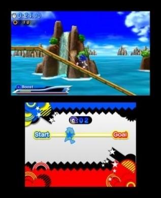 Sonic Generations Nintendo 3DS: immagini