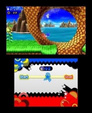 Sonic Generations Nintendo 3DS: grafica