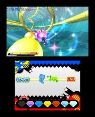 Sonic Generations Nintendo 3DS: gioco