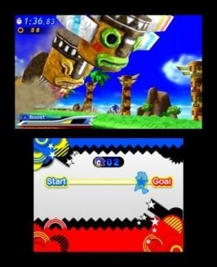 Sonic Generations Nintendo 3DS: foto