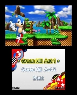 Sonic Generations Nintendo 3DS: console