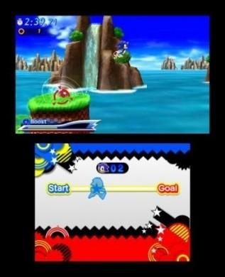 Sonic Generations Nintendo 3DS: 3D