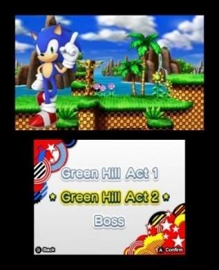 Sonic Generations Nintendo 3DS: 2D