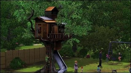 The Sims 3 generations casetta sims
