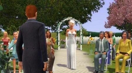 the sims 3 generations sposa verso lo sposo