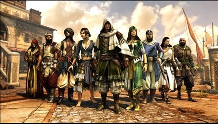Assassin's Creed Revelations: personaggi