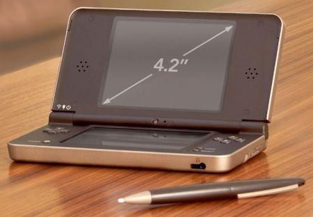 Nintendo DSi XL: schermo