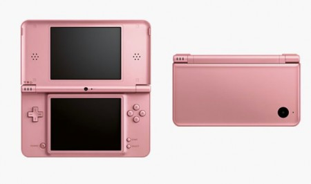 Nintendo DSi XL: fronte retro