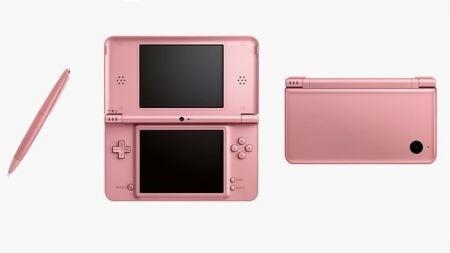 Una nuova Nintendo DSi XL rosa