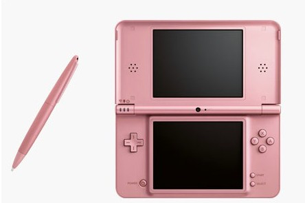 Nintendo DSi XL: fronte penna