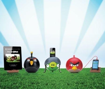 Angry Birds ispira una linea di altoparlanti