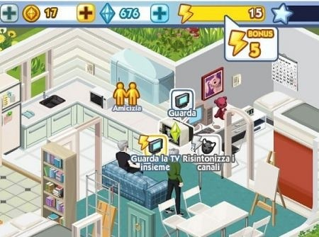 The Sims Social: online