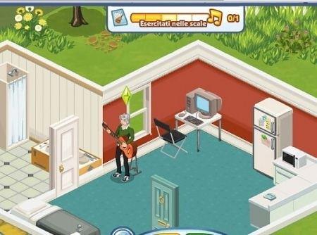The Sims Social: grafica