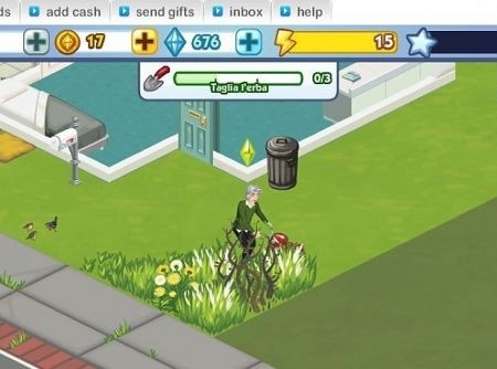 The Sims Social: giochi