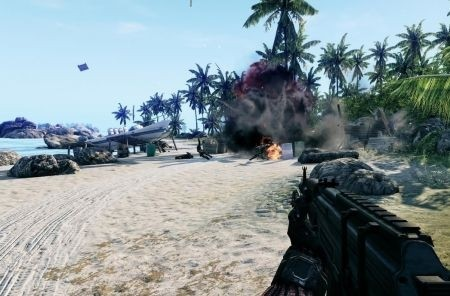 Crysis PS3 Xbox 360: fuoco