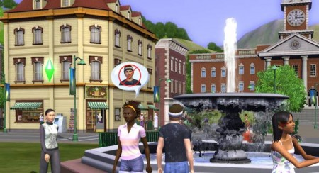 The Sims 3: parco