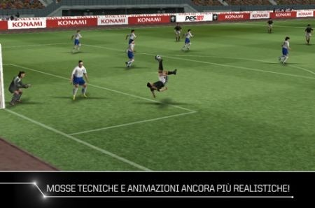 PES 2011: iPhone