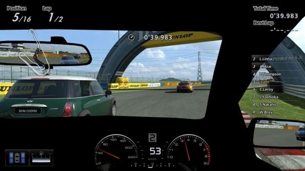 Gran Turismo 5: patch