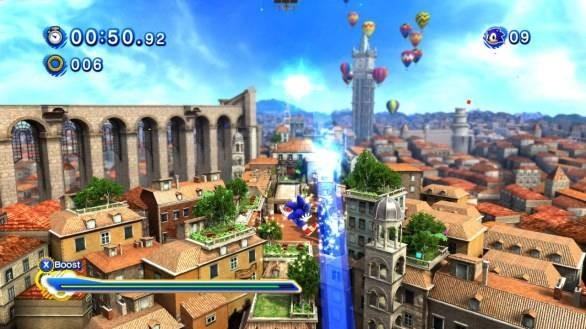 Sonic Generations arriverà anche su PC: ecco le prime immagini