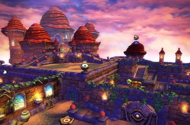 Skylanders Spyro's Adventure: colori