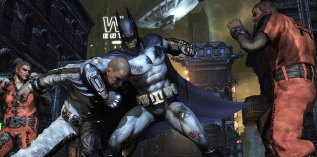 Batman Arkham City: azione