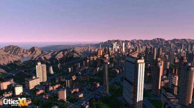 Cities XL 2012: paesaggio