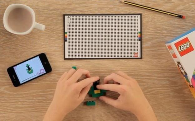 I mattoncini LEGO sull'app iPhone La vita di George