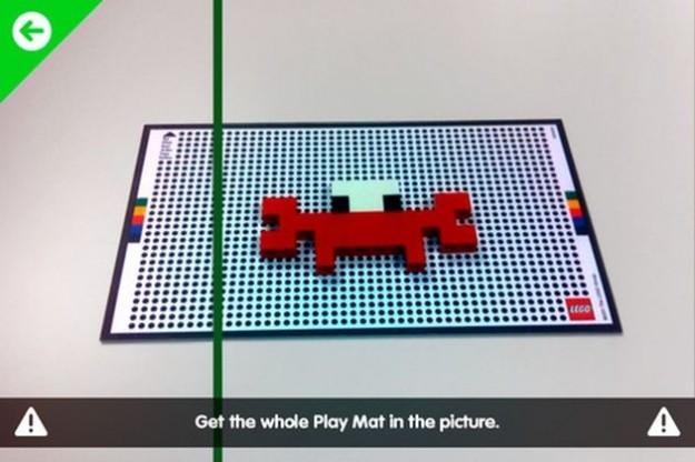 I mattoncini LEGO in un gioco molto originale