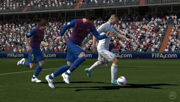Le prime foto di FIFA 12 per PS Vita