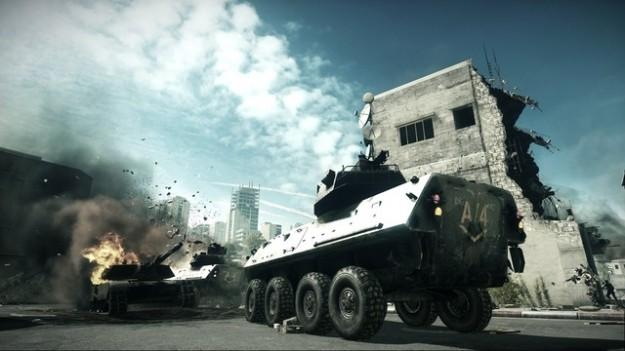 Battlefield 3: splendide foto del gioco d'azione