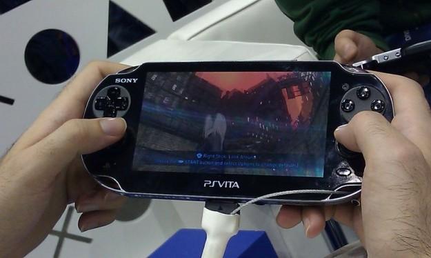 Games Week 2011: PS Vita Gravity