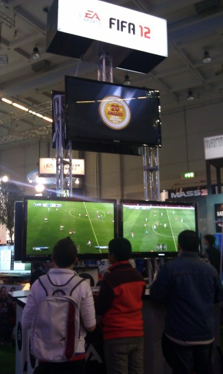 Games Week: FIFA 12 stand