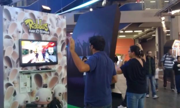 Games Week: Rabbids fuori di schermo Kinect