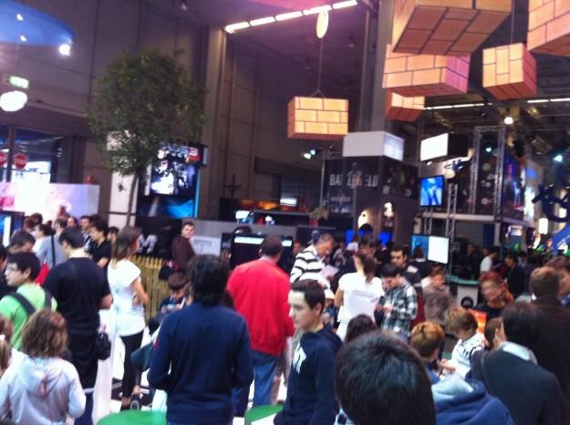 Games Week: stand Nintendo
