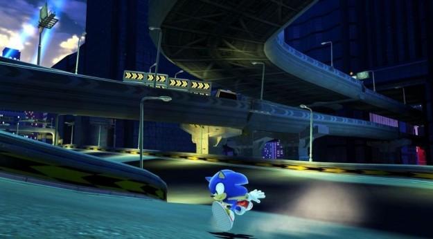 Sonic Generations: le foto mostrano una grafica molto colorata