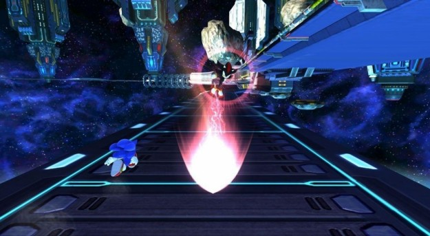 Sonic Generations: corsa