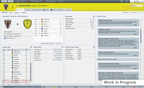 Football Manager 2012: calcio