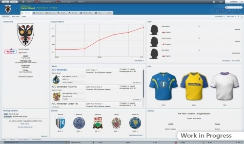 Football Manager 2012: immagini