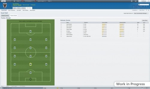 Football Manager 2012: team