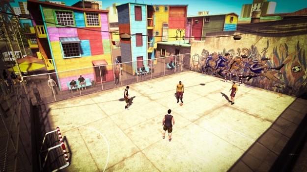 FIFA Street: campo