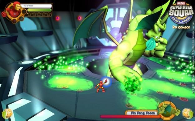 Marvel Super Hero Squad Online: videogame