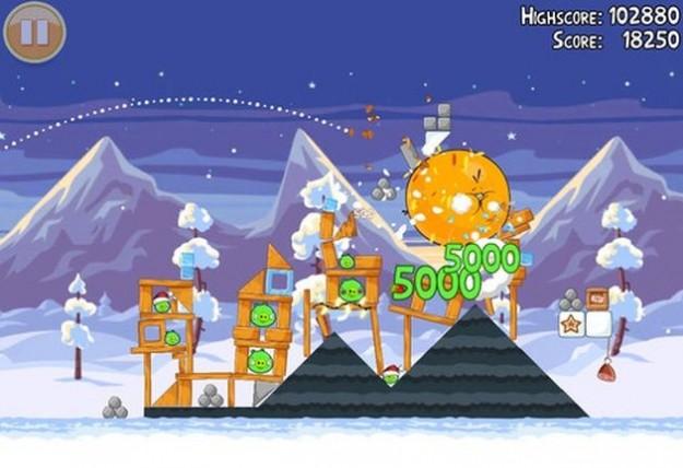 Angry Birds Seasons: Natale