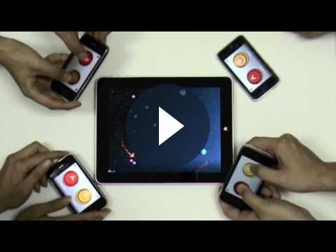Giochi iPad: usare l'iPhone come controller con MPad