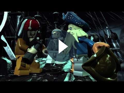 Giochi per PC: nuovo trailer in italiano di LEGO Pirati dei Caraibi