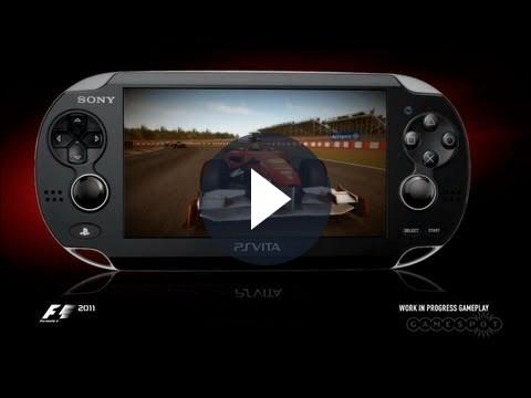 F1 2011 tra i giochi disponibili al lancio della PS Vita