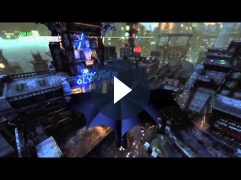 Su Batman Arkham City un nuovo video gameplay relativo all'abilità di volo di Batman