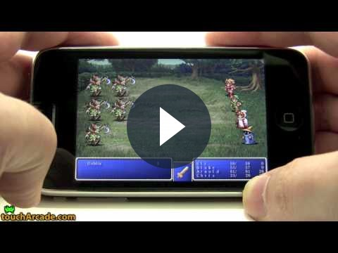 Final Fantasy, iPhone: Square festeggia!