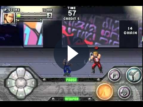 Giochi iPhone: Double Dragon convince in trailer!