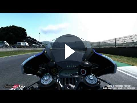 MotoGP 13: primo video del simulatore di guida