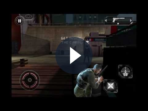 Splinter Cell: Conviction iPhone – video gameplay